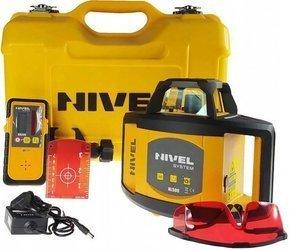 Niwelator rotacyjny laserowy NIVEL SYSTEM NL500 Czerwony + Darmowa DOSTAWA