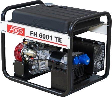 Agregat prądotwórczy FOGO FH 6001 TE + Olej + Darmowa DOSTAWA