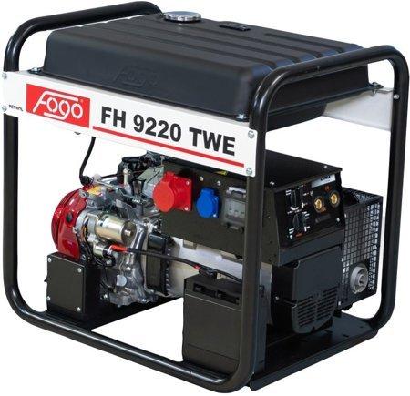 Agregat prądotwórczy FOGO FH 9220 TWE z funkcją spawania + Olej + Darmowa DOSTAWA