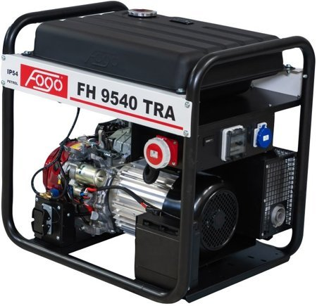 Agregat prądotwórczy FOGO FH 9540 TRA + Olej + Darmowa DOSTAWA